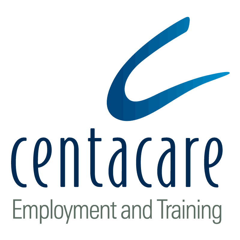 Centacare Employment and Training vertical logo