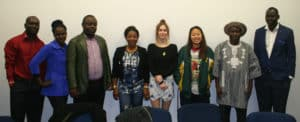 Students and teacher at their graduation from their Certificate III in individual support (disability).