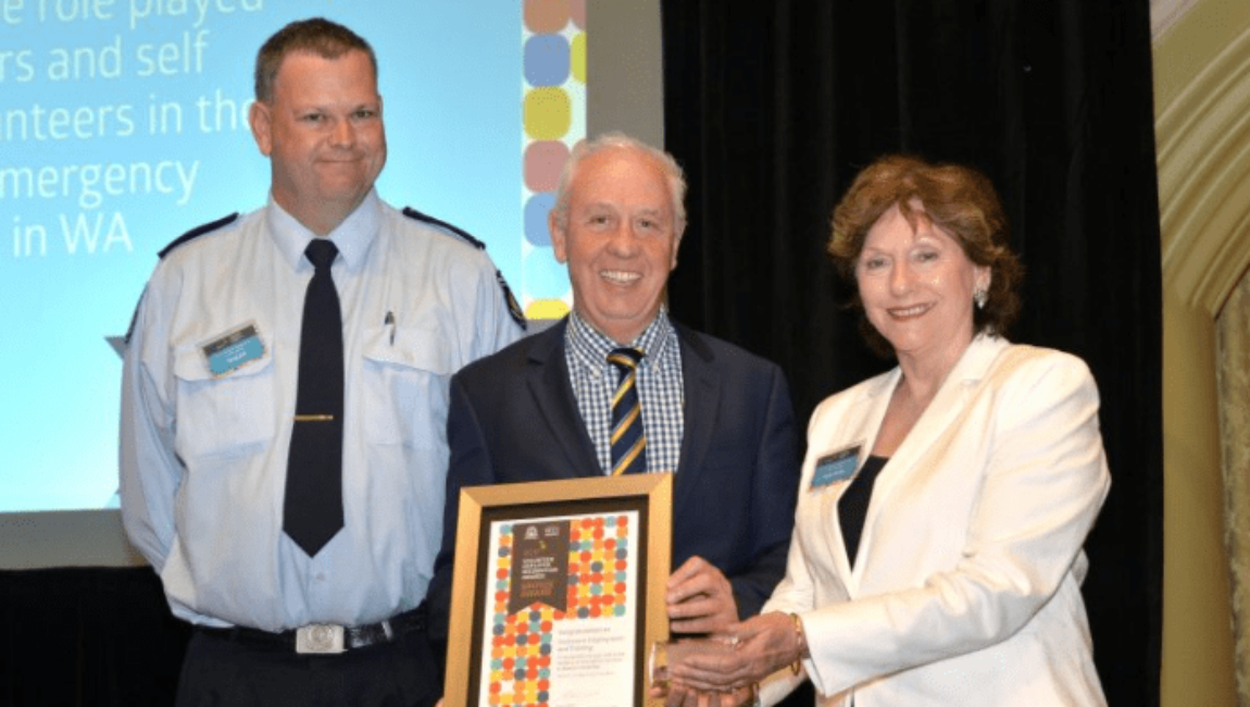 Centacare Proudly Receives DFES Volunteer Employer Recognition Award