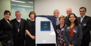Board members at the Centacare West Perth opening.