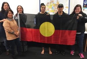 Centacare students celebrate NAIDOC Week at the Head Office in West Perth.