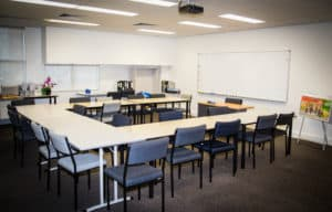 Training classroom at Centacare's Head Office in West Perth.
