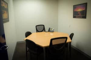 Small meeting room at Centacare's Head Office in West Perth.