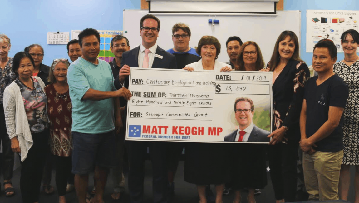 Centacare Wins Stronger Communities Grant to Improve Digital Skills in Gosnells