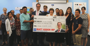 Centacare receives Stronger Communities Grant from Matt Keogh MP in Gosnells