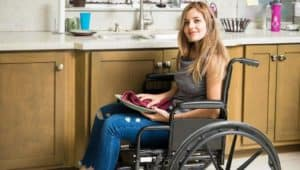 Image of an NDIS participant in supported independent living.